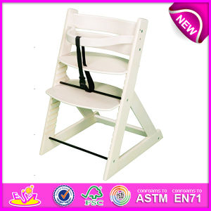 Professional Baby High Chair Wood, Wooden Baby High Chair, Best Quality Wooden Baby High Chair Dinner Chair Set W08f036 pictures & photos