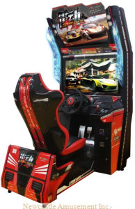 Stimulating Amusement Casino with Game Machine (Storm Racer) pictures & photos