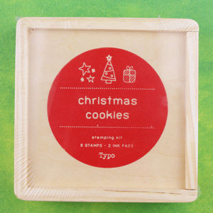 DIY Christmas Series Stamp-Wooden Rubber Stamp Box pictures & photos