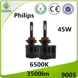 Philips Auto LED Headlight for Car 25W 3500lm P6 pictures & photos