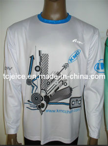 Digital Sublimation 100% Polyester T-Shirt (TC053)