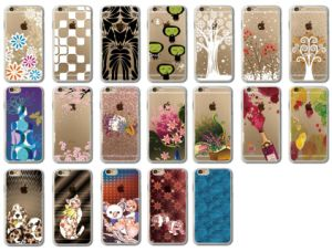 Custom Flat Printing iPhone 7 Cases with Other 400models Available pictures & photos