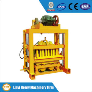 Qtj4-40 Low Cost Manual Block Making Machine pictures & photos