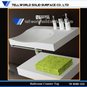 Acrylic Solid Surface Wash Basin Sink Bathroom Vanity Furniture pictures & photos