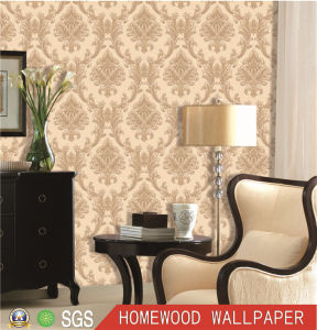 Customized Deep Embossed Vinyl Wall Paper with Cheap Price pictures & photos