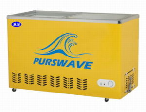 Purswave Sc/SD-218 218L Solar Chest Freezer 12V24V48V Compressor Battery Refrigerator pictures & photos