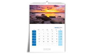 2015 Wall Calendar with Logo Stamping pictures & photos