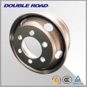 Top Quality Truck Steel Wheel Rims 22.5*8.25/ Tubeless Steel Truck Wheel pictures & photos