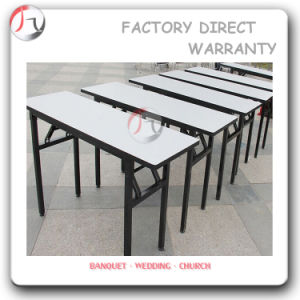 Commercial Folding Rectangular Meeting Table (BT-10) pictures & photos