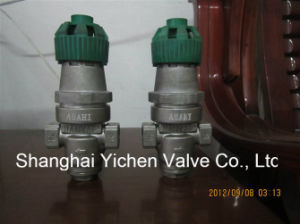 Steam & Water Thread Pressure Reduce Valve (Y14) pictures & photos