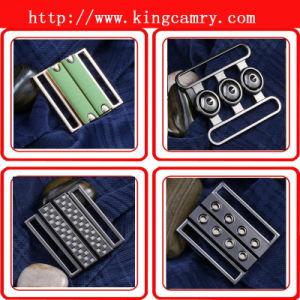 Lady′s Waist Belt Buckle/ Pair Closure Clasp Buckles / Garment Pair Buckle/Metal Clasp Buckle pictures & photos
