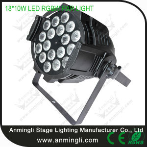 18 PCS RGBW 4in1 LED Professional PAR Lighting