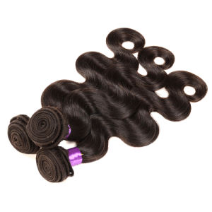 Unprocessed Virgin Indian Hair Body Wave 3PCS Indian Virgin Hair Human Hair Extensions Wholesale Raw Remy Hair Weave Bundles pictures & photos