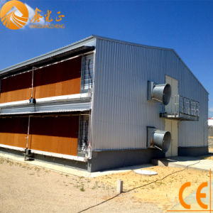 Prefabricated Steel Structure Chicken House (PCH-15) pictures & photos