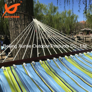 New Fabric Double Quilted Hammock with Pillow pictures & photos