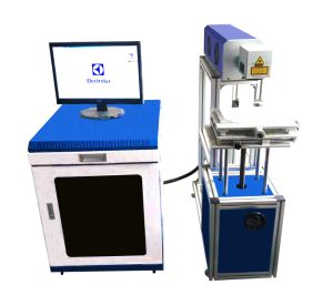 CO2 Non-Metal Laser Marking/Engraving Machinefor Marking Wood/ Leather/ Food Package pictures & photos