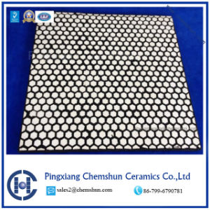 Abrasion Resistant Rubber Ceramic Wear Panel for Chute Linings pictures & photos