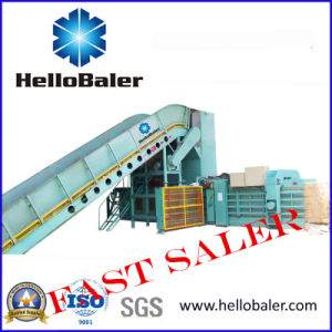 Hellobaler Horizontal Paper Baling Machine (13-20t/h) pictures & photos