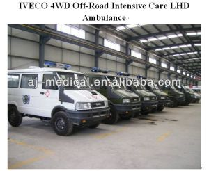 New 4WD off-Road Intensive Care LHD Ambulance Car Medical Equipment Urgent Equipments Medical Vehicle for Sale pictures & photos