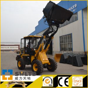 Popular Small Wheel Loader Zl 12f with CE pictures & photos