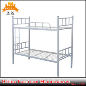 Cheap Dorm Double Decker Bed Frame Army Military Metal Bunk Beds for Sale pictures & photos