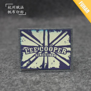 China Factory Felt Background Iron on Print Brand Badge pictures & photos