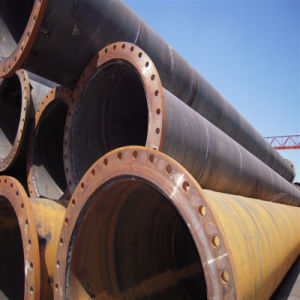 Large Diameter Flange Pipe Making by Carbon Steel pictures & photos