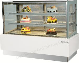 Square Cake Displayer Cooller CE RoHS