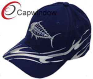 Black Shark Embroidery Fashion Leisure Sport Racing Baseball Cap pictures & photos