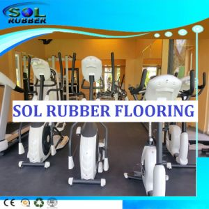 Environmentally Friendly Comfortable Roll Gym Rubber Flooring pictures & photos