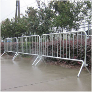 Galvanized Temporary Guardrail
