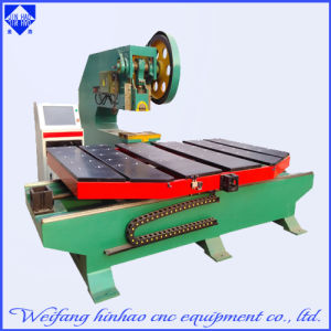High Frequency CNC Punching Press Machine with Feeding Platform