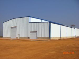 Portal Frame Light Steel Structure Warehouse Building (KXD-SSW105) pictures & photos