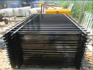 Australia Powder Coated Steel Garrison Fence (XM2-39) pictures & photos