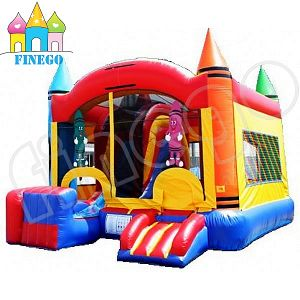 Professional Giant Inflatable Jumping Slide pictures & photos