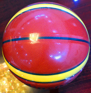 Basketball Customized Wear-Resisting Quality Cheap 12pieces 4#5#6#7# Sg0027 PU Basketball pictures & photos