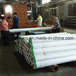48kg Red Felt Back PVC Vinyl Flooring in Iraq pictures & photos