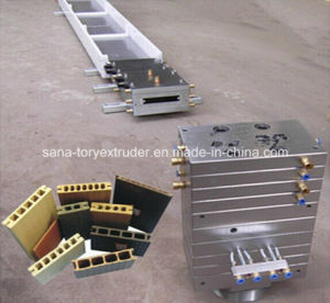 Plastic WPC Decking Floor Profile Extrusion Mould/Die pictures & photos