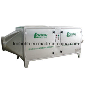 Loobo UV Gas Purifier for Waste Gas Odor Treatment Vocs Removal Machine pictures & photos