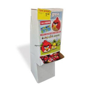 12 Cells Supermarket Cartoon Food Paper Display Rack pictures & photos