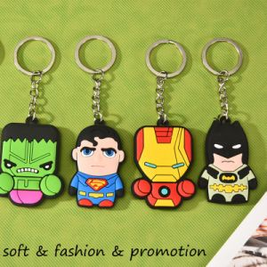 Custom PVC 3D Rubber Keychain & Keyring pictures & photos