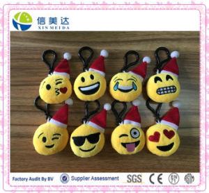 Mini Size Plush Stuffed Emoji Keychain pictures & photos