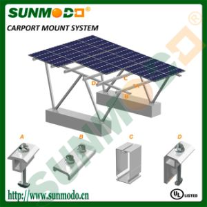 Aluminum Solar Carpot Mounting Bracket pictures & photos