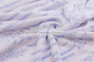 100% Polyester Coral Fleece Blanket /Bed Cover pictures & photos