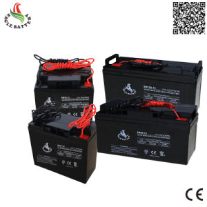 12V 38ah Rechargeable Lead Acid Battery for Solar System pictures & photos