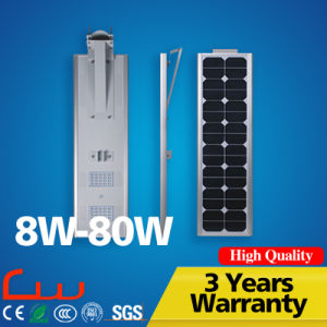 5 Meters 30 Watt Integrated All in One Solar Street Light pictures & photos
