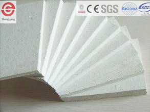 Glass Magnesium Oxide Board 100% Free Asbestos Fire Resistance 3hours pictures & photos