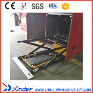 Xinder Wl-Uvl-1600II-H Wheelchair Lift for Coach in Luggage pictures & photos