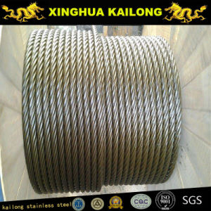 7*7/6*7+Wsc/FC Inox Wire Rope/Inox Cable A2/A4 pictures & photos