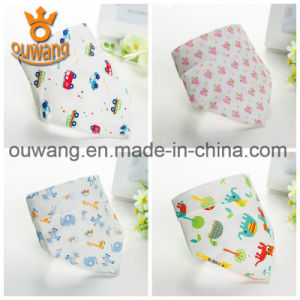 Fashion Wholesale Washable Baby Bandana Drool Bibs pictures & photos